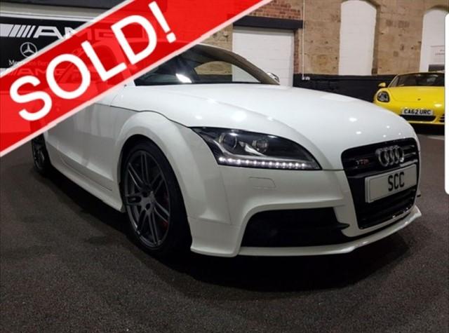 used Audi TTS TTS TFSI QUATTRO S LINE BLACK EDITION in yeadon-leeds-for-sale