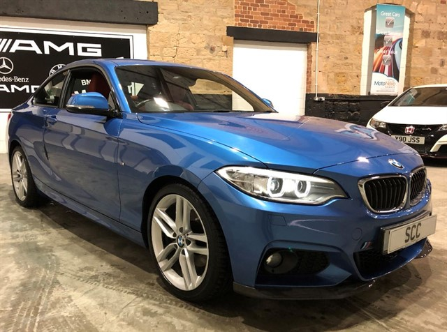 used BMW 220d M SPORT in yeadon-leeds-for-sale