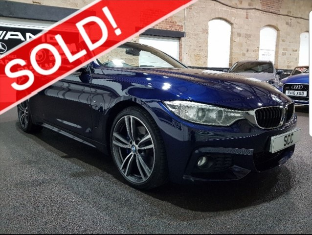 used BMW 420d M SPORT in yeadon-leeds-for-sale
