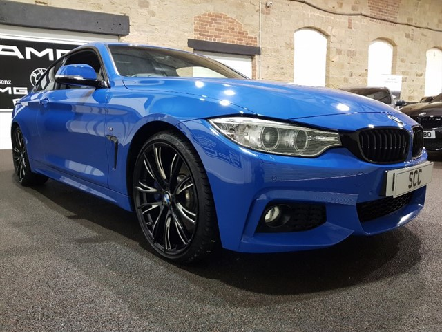 used BMW 430d M SPORT in yeadon-leeds-for-sale