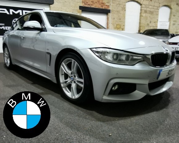 used BMW 420d M SPORT GRAN COUPE in yeadon-leeds-for-sale