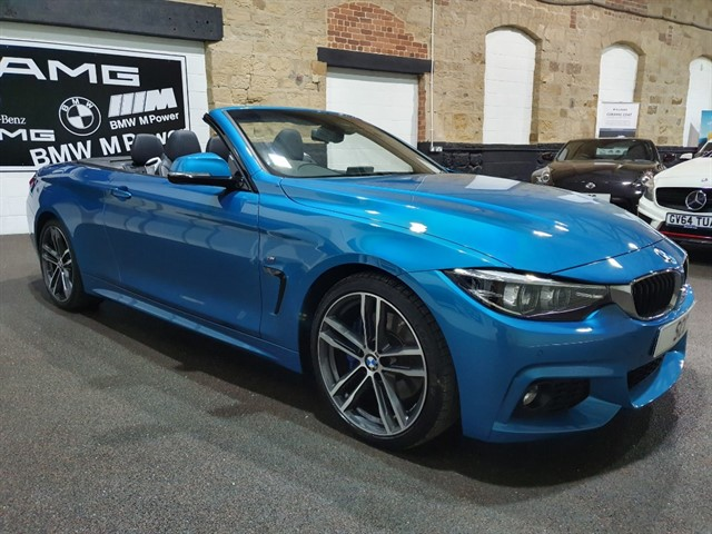 used BMW 420i M SPORT in yeadon-leeds-for-sale