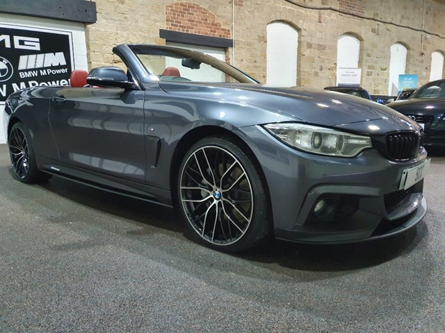 used BMW 435d XDRIVE M SPORT in yeadon-leeds-for-sale