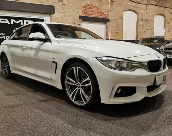 used BMW 435d XDRIVE M SPORT GRAN COUPE in yeadon-leeds-for-sale