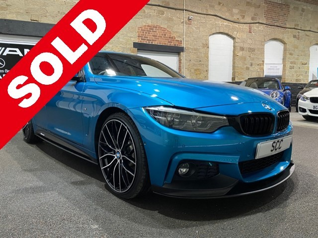 used BMW 440i M SPORT GRAN COUPE in yeadon-leeds-for-sale