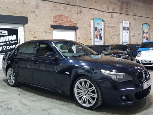 used BMW 520d 520D M SPORT BUSINESS EDITION in yeadon-leeds-for-sale