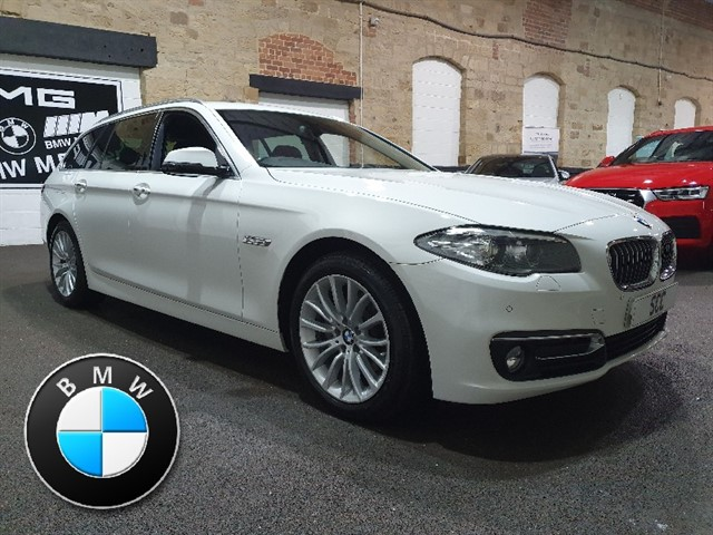 used BMW 520d LUXURY TOURING in yeadon-leeds-for-sale