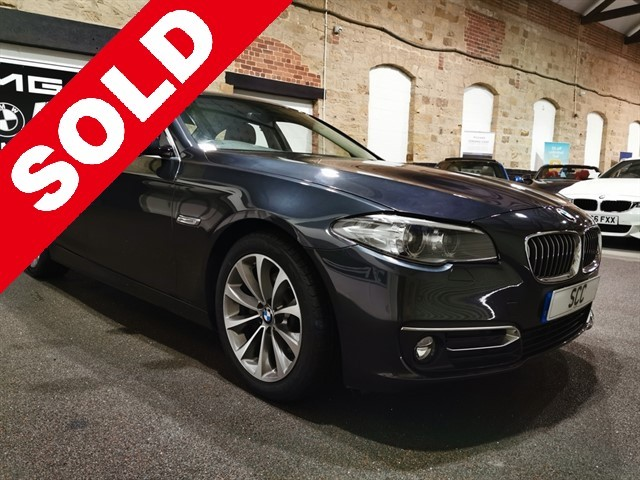 used BMW 520d LUXURY in yeadon-leeds-for-sale