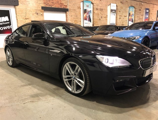 used BMW 640d M SPORT GRAN COUPE in yeadon-leeds-for-sale