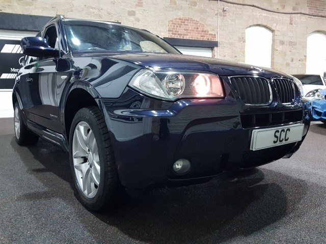 used BMW X3 XDRIVE20D M SPORT in yeadon-leeds-for-sale