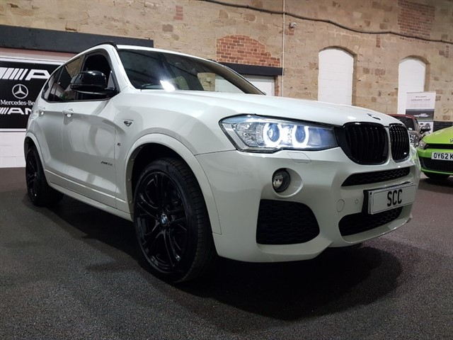 used BMW X3 XDRIVE30D M SPORT in yeadon-leeds-for-sale