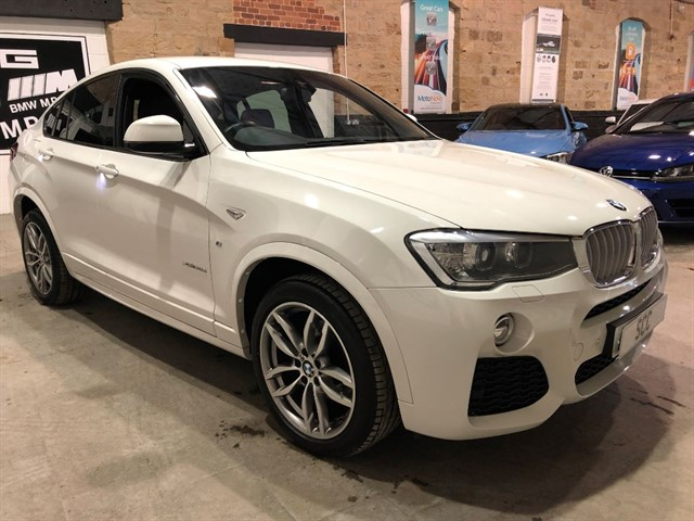 used BMW X4  XDRIVE30D M SPORT in yeadon-leeds-for-sale