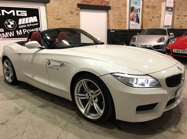 used BMW Z4 SDRIVE28I M SPORT ROADSTER in yeadon-leeds-for-sale