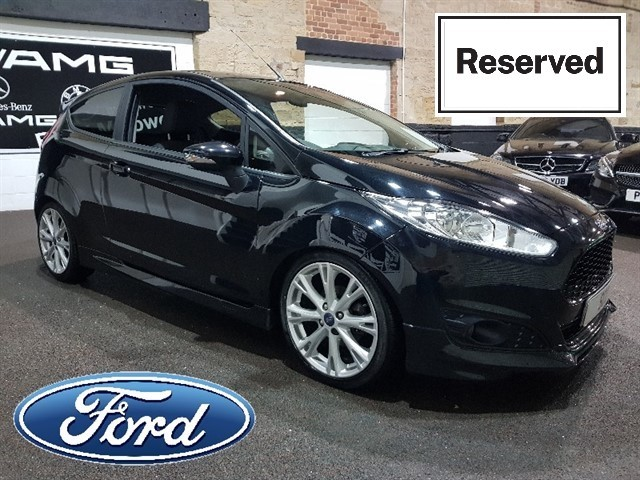 used Ford Fiesta ZETEC S in yeadon-leeds-for-sale