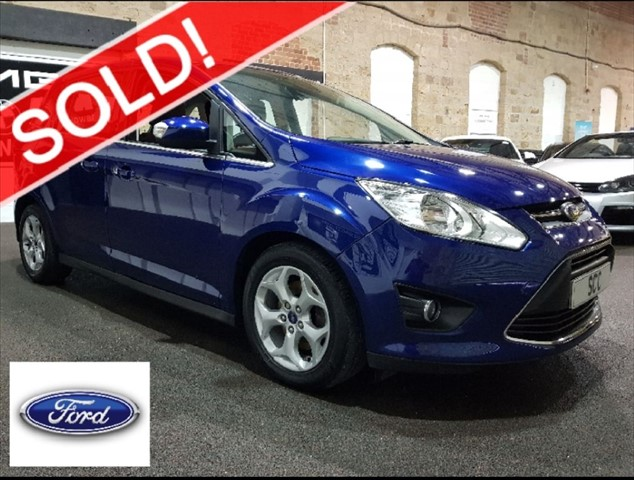 used Ford Grand C-Max ZETEC TDCI in yeadon-leeds-for-sale