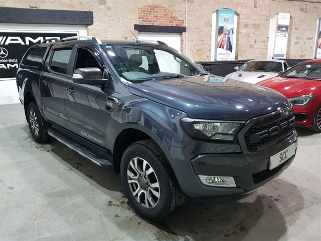 used Ford Ranger WILDTRAK 4X4 DCB TDCI in yeadon-leeds-for-sale