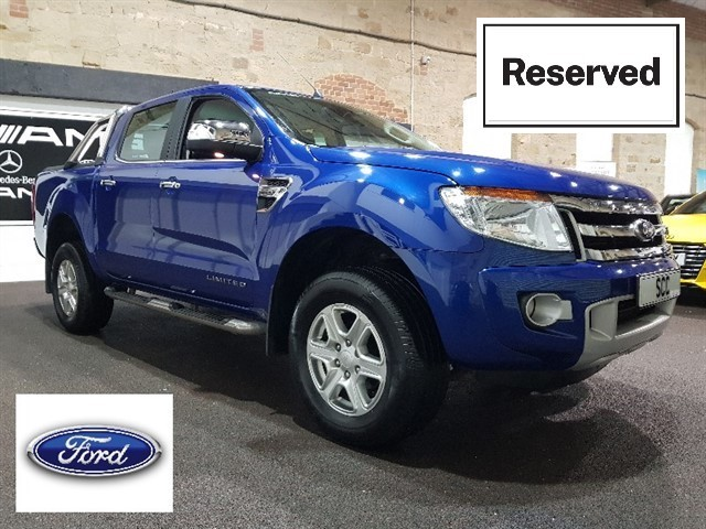 used Ford Ranger LIMITED 4X4 DCB TDCI in yeadon-leeds-for-sale