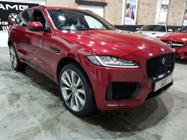 used Jaguar F-Pace V6 S AWD in yeadon-leeds-for-sale