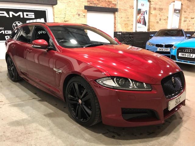used Jaguar XF D R-SPORT BLACK SPORTBRAKE in yeadon-leeds-for-sale