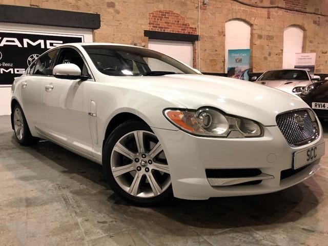 used Jaguar XF V6 LUXURY in yeadon-leeds-for-sale