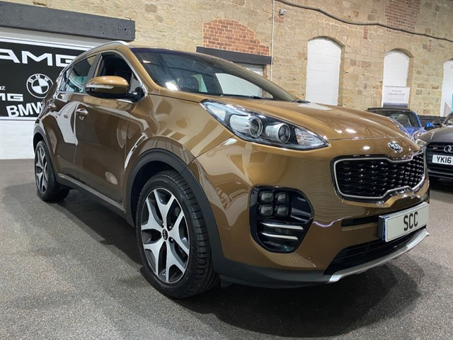 used Kia Sportage CRDI GT-LINE EDITION DCT ISG in yeadon-leeds-for-sale