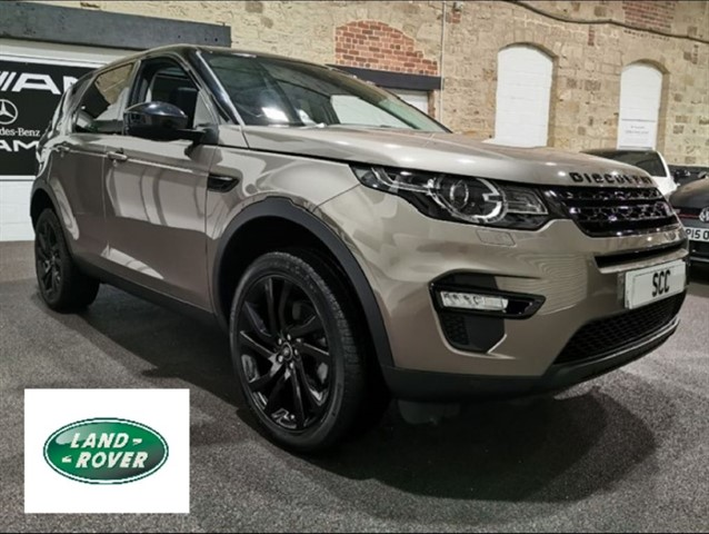 used Land Rover Discovery Sport TD4 HSE BLACK in yeadon-leeds-for-sale