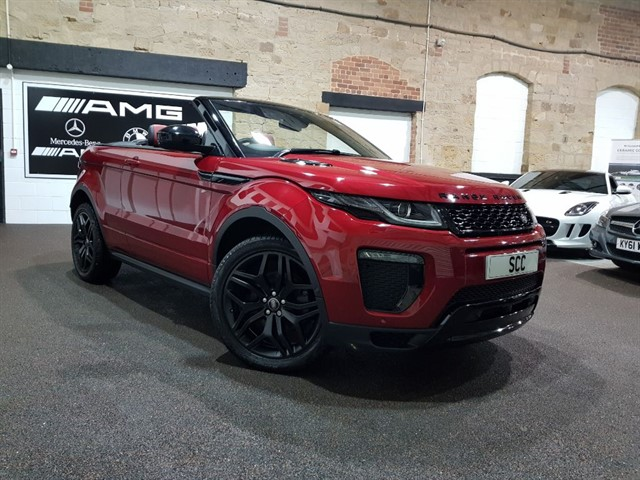 used Land Rover Range Rover Evoque TD4 HSE DYNAMIC LUX in yeadon-leeds-for-sale