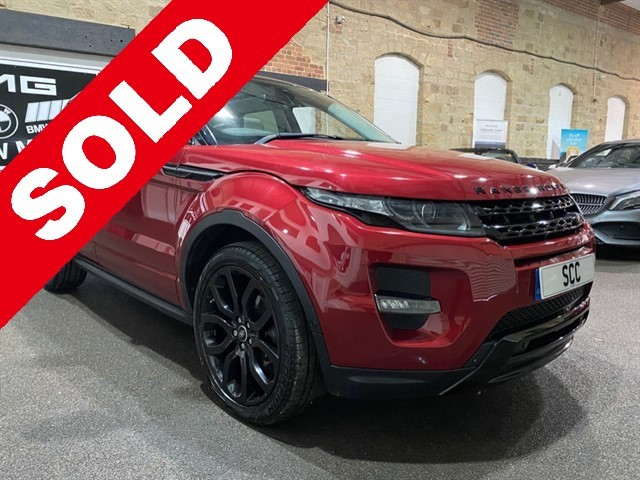 used Land Rover Range Rover Evoque SD4 DYNAMIC LUX in yeadon-leeds-for-sale