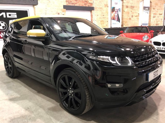 used Land Rover Range Rover Evoque SD4 SPECIAL EDITION in yeadon-leeds-for-sale