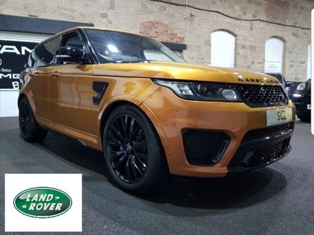 used Land Rover SVR V8 SVR in yeadon-leeds-for-sale