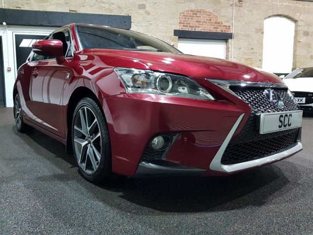 used Lexus CT 200h F SPORT in yeadon-leeds-for-sale