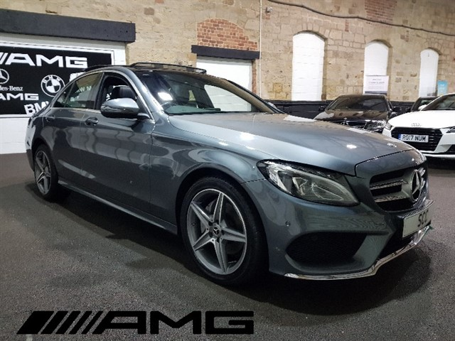 used Mercedes C220 4MATIC AMG LINE PREMIUM in yeadon-leeds-for-sale