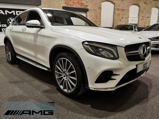 used Mercedes 250 GLC  D 4MATIC AMG LINE PREMIUM in yeadon-leeds-for-sale