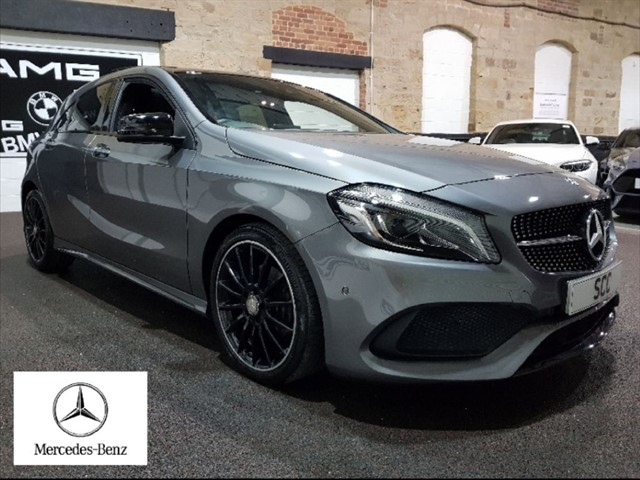 used Mercedes A180 A-CLASS A 180 AMG LINE PREMIUM PLUS in yeadon-leeds-for-sale
