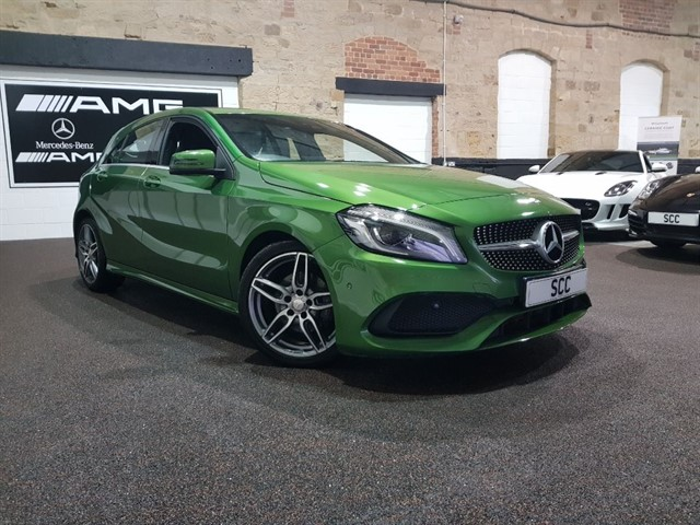 used Mercedes A200 A-CLASS A 200 D AMG LINE PREMIUM in yeadon-leeds-for-sale