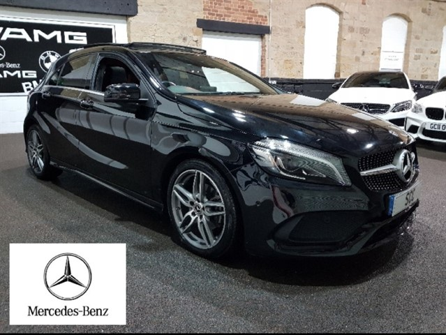 used Mercedes A200 A-CLASS A 200 D AMG LINE PREMIUM PLUS in yeadon-leeds-for-sale