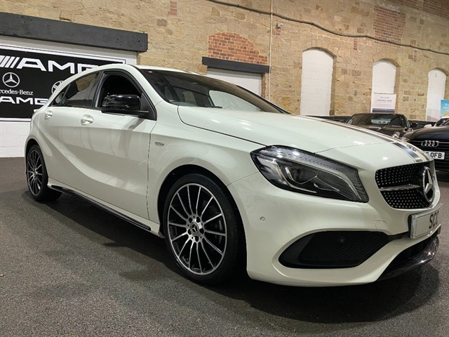 used Mercedes A200 A  WHITEART in yeadon-leeds-for-sale