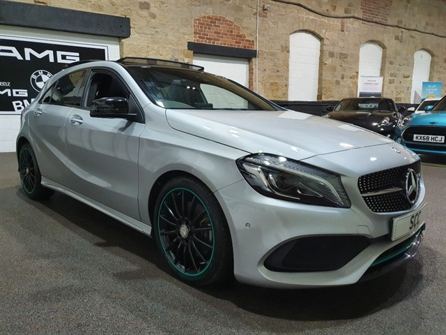 used Mercedes A220 A  D MOTORSPORT EDITION PREMIUM in yeadon-leeds-for-sale