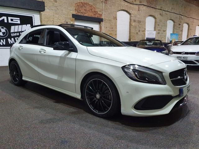 used Mercedes A220 A  D AMG LINE PREMIUM PLUS in yeadon-leeds-for-sale