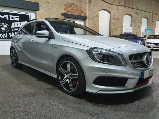 used Mercedes A250 4MATIC ENGINEERED BY AMG in yeadon-leeds-for-sale