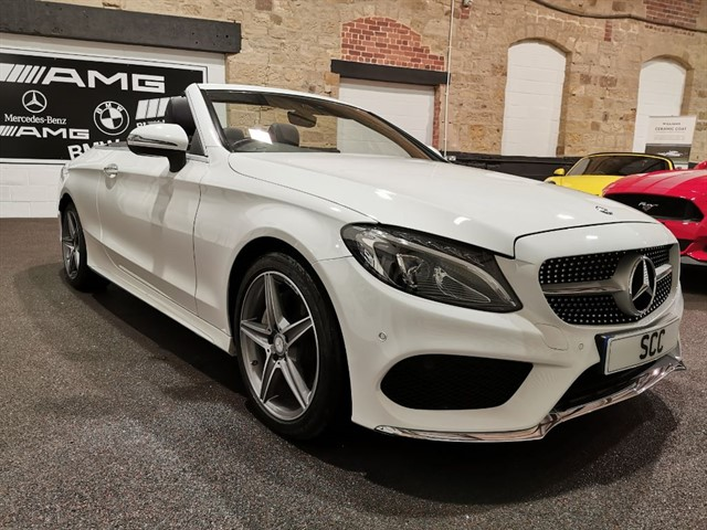 used Mercedes C220 C-CLASS C 220 D AMG LINE in yeadon-leeds-for-sale