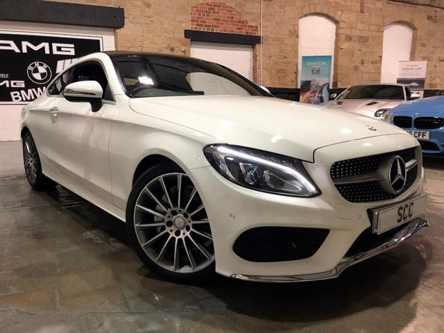used Mercedes C220 C-CLASS C 220 D AMG LINE PREMIUM PLUS in yeadon-leeds-for-sale