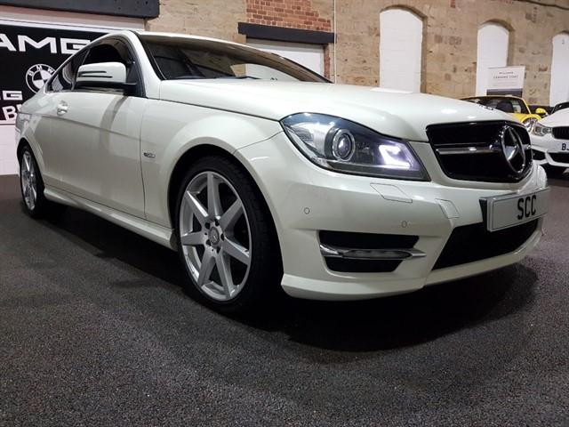 used Mercedes C220 CDI BLUEEFFICIENCY AMG SPORT in yeadon-leeds-for-sale