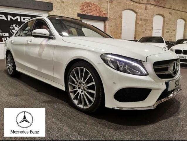 used Mercedes C220 D AMG LINE PREMIUM in yeadon-leeds-for-sale