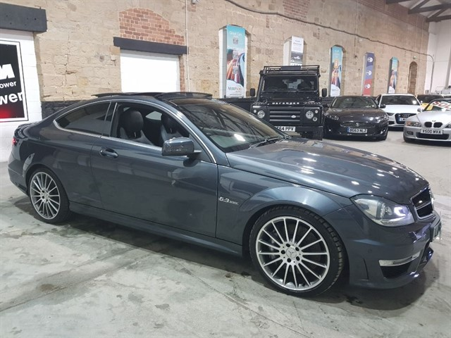 used Mercedes C63 AMG AMG COUPE+PANROOF in yeadon-leeds-for-sale