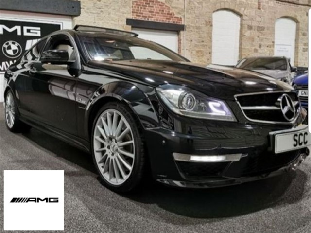 used Mercedes C63 AMG 6.3 V8 in yeadon-leeds-for-sale