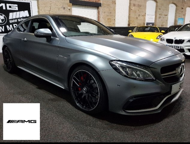 used Mercedes C63 AMG C-CLASS AMG C 63 S PREMIUM in yeadon-leeds-for-sale