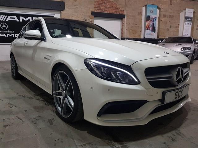 used Mercedes C63 AMG C-CLASS AMG C 63 PREMIUM in yeadon-leeds-for-sale