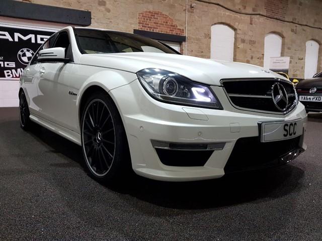 used Mercedes C63 AMG 6.2LTR 4 DOOR SALOON in yeadon-leeds-for-sale