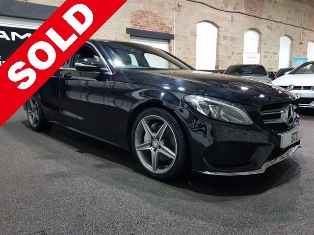 used Mercedes C220 BLUETEC AMG LINE in yeadon-leeds-for-sale